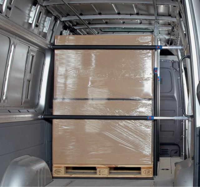 3 airlinezurrschienen 4 sperrstangen f r transporter. Black Bedroom Furniture Sets. Home Design Ideas